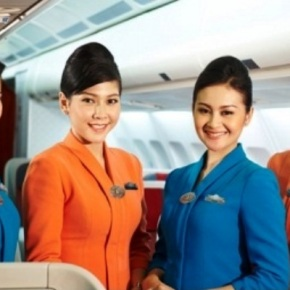 Garuda Indonesia Flight Attendant Uniform